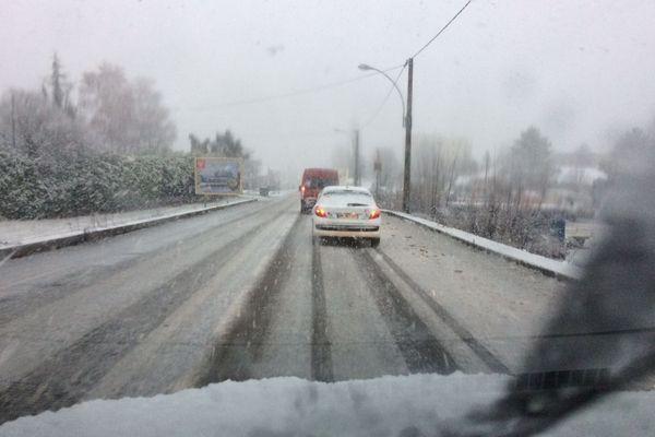 La Lozère a déjà connu un épisode neigeux le lundi 8 janvier.