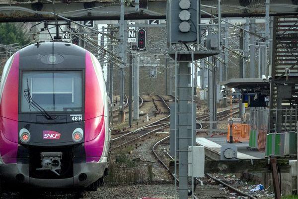La branche Paris Nord / Luzarches est perturbée sur la ligne H ce dimanche à cause de la tempête Ciara. (Illustration)