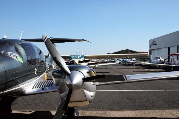 La flotte du raid Latécoère-Aéropostale sur le tarmac de l'aéroport de Perpignan en 2018 (illustration).