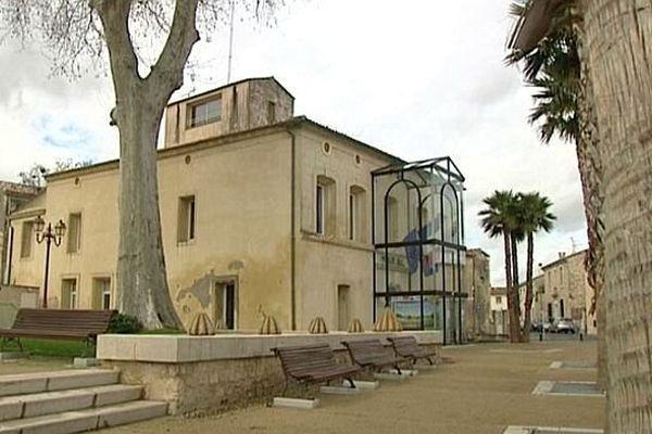 Baillargues (Hérault) - la mairie - mars 2014.