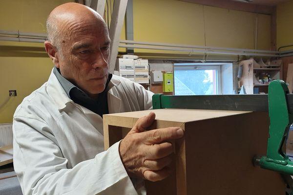 Jean-jacques Bacquet fabricant d'enceintes haut de gamme