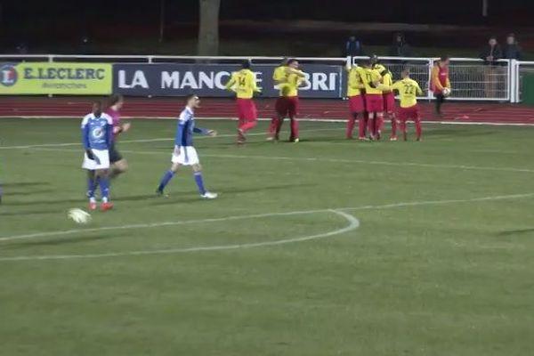 Avranches arrache le nul face à Lyon Duchère (3-3)