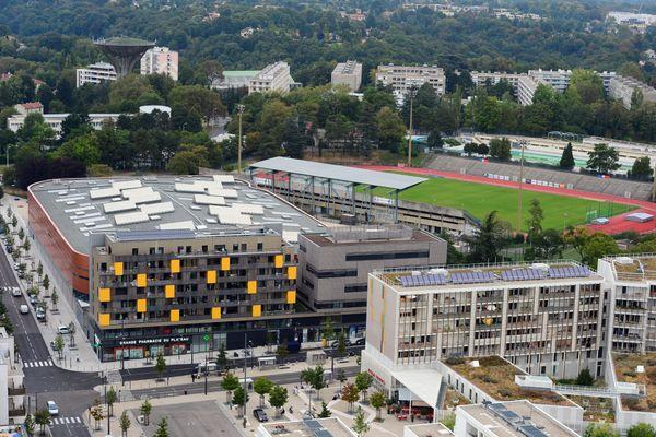Vue du quartier de La Duchère, dans le 9e arrondissement de Lyon.
