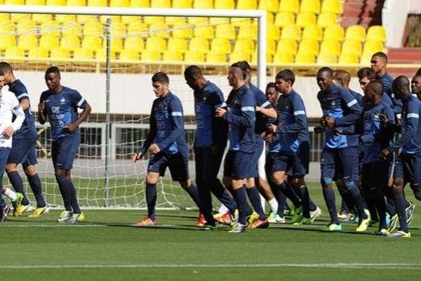 Les Bleuets, joueurs de l'équipe de France Espoirs