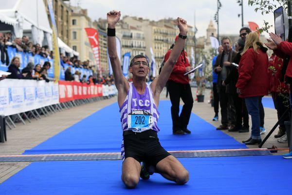 Le Toulonnais Laurent Rachard s'est imposé dans le marathon.