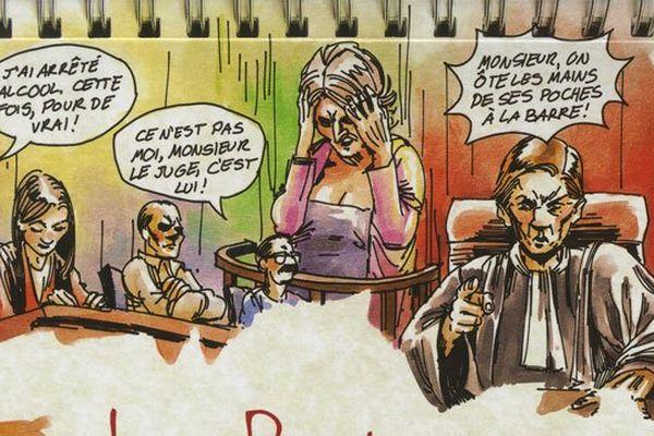 """La couverture de """"La Bretagne au tribunal"""""""