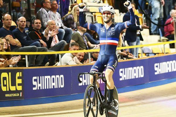 Le Tarnais, né à Lavaur, Benjamin Thomas a été sacré champion d'Europe de l'omnium, discipline qui figure aux Jeux olympiques.
