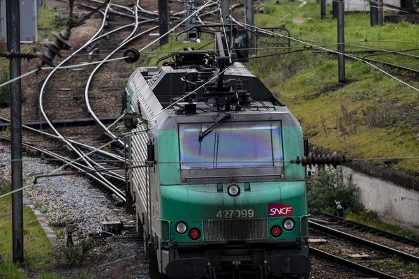 Un train de fret de la SNCF en Île-de-France (illustration).