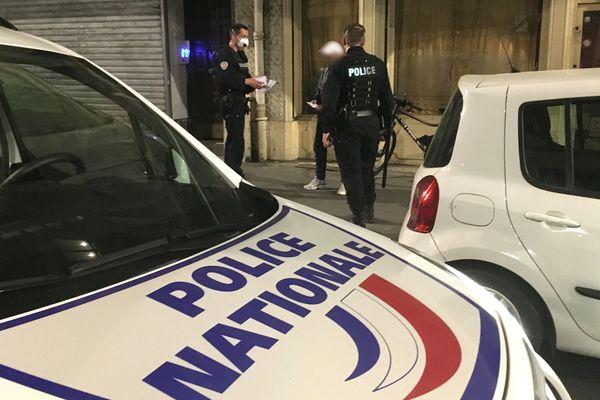 A Nancy, 500 amendes ont été distribuées pour non respect du couvre-feu depuis sa mise en place il y a trois semaines
