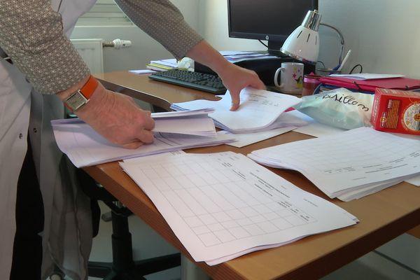 Retour aux formulaires papiers dans les services de l'hôpital d'Oloron-Ste-Marie