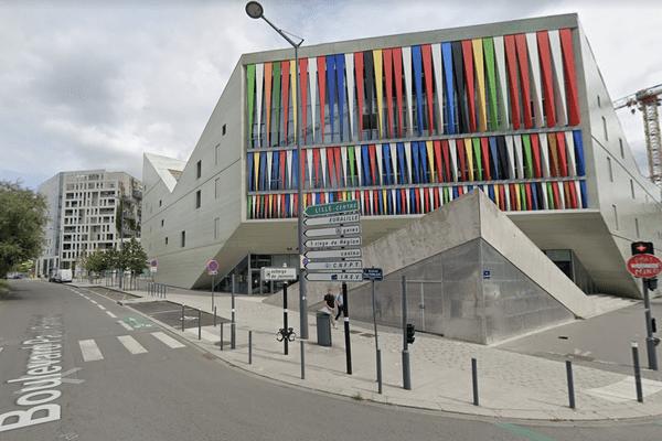 L'accident mortel a eu lieu au croisement de l'avenue Denis Cordonnier et du boulevard Paul Painlevé.