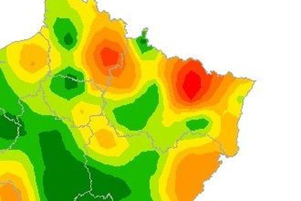 Le Grand Est est la région de France la plus touchée.