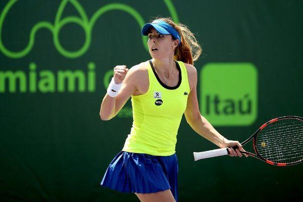 Le 23 mars 2016, au 1er tour contre Galina Voskoboeva