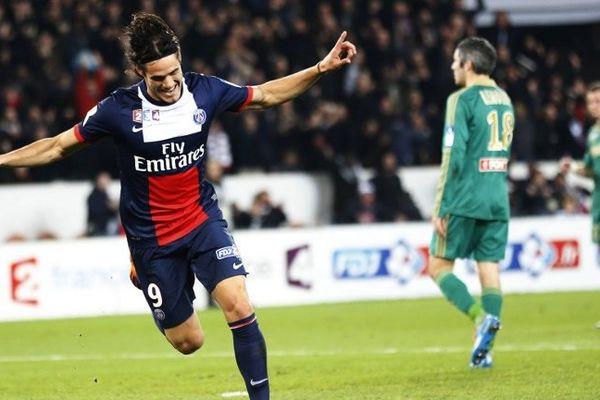 Cavani mérite bien son surnom d'El Matador. Il a inscrit les deux buts de la victoire du PSG face à l'AS Saint-Etienne.