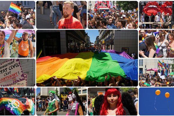 10 000 personnes à la Gay Pride 2017 à Nantes