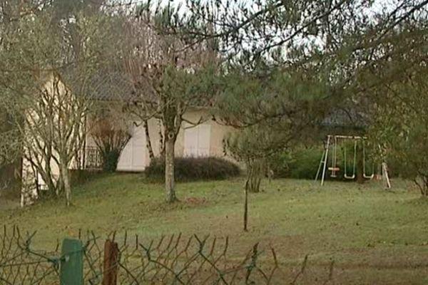 Le drame a eu lieu dans cette maison de Chancelade en Dordogne.
