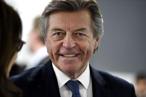 Alain Joyandet (Les Républicains) candidat aux élections départementales de Haute-Saône, et aux régionales dans ce même département.