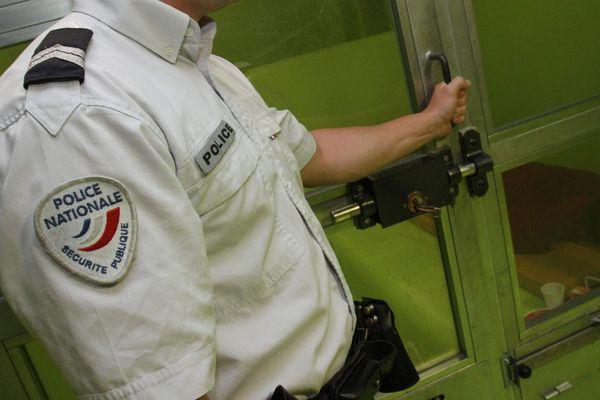 Garde à vue dans le commissariat de Mulhouse (photo d'illustration).