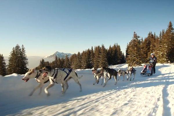 Cindy Duport est la plus jeune engagée dans la Grande Odyssée Savoie Mont-Blanc 2021.