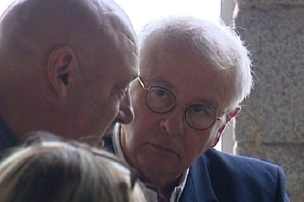 Philip Plisson lors de son procès aux assises du Morbihan