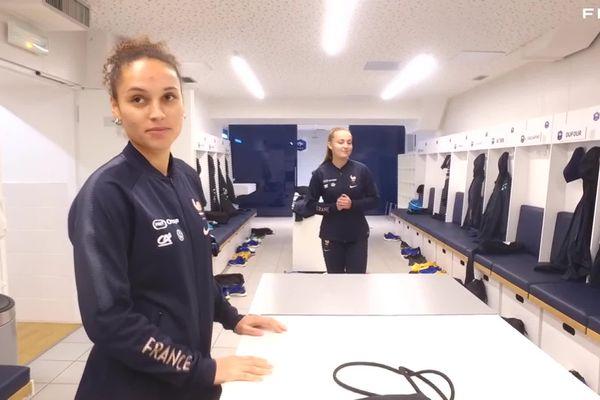 Ella Palis qui a évolué au club de Verson, près de Caen, toute son enfance, fait ce soir son entrée chez les Bleues au Stade d'Ornano, un grand moment pour elle : professionnel et personnel