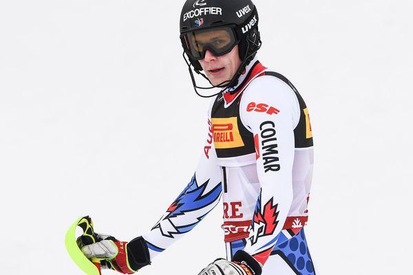 Le Français Clément Noël a fini deuxième du slalom de Lévi. Photo d'archives.
