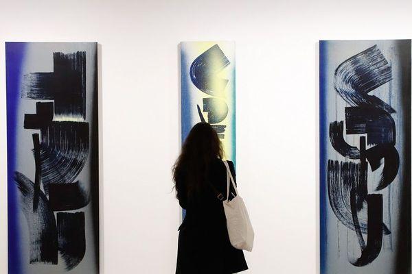 Rétrospective Hans Hartung au Musée d'art moderne de la ville de Paris