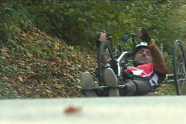 Sportifs handicapés et valides ont participé ensemble à la première montée de La Planche-des-Belles-Filles, en Haute-Saône