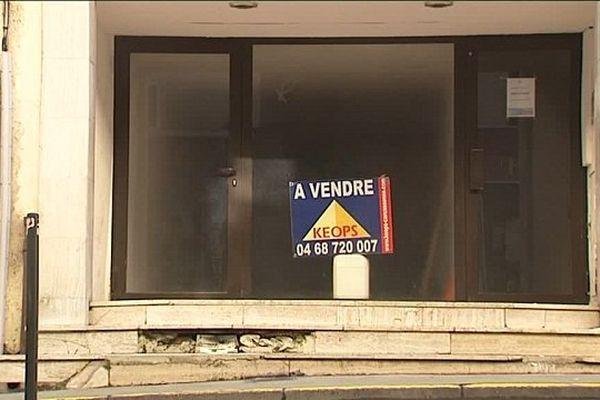 A Carcassonne, 15 % des commerces sont fermés.