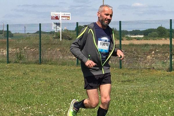 Mickaeël Baury se prépare depuis des mois. Dimanche 12 mai il courra à Saumur le premier marathon de sa vie