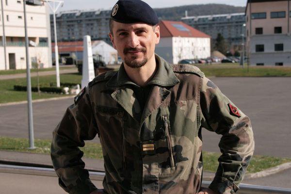 Le lieutenant de réserve Christophe Lafaye recevra le Prix d'histoire militaire 2014.