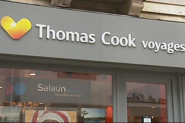 Une agence Salaüin siglée Thomas Cook