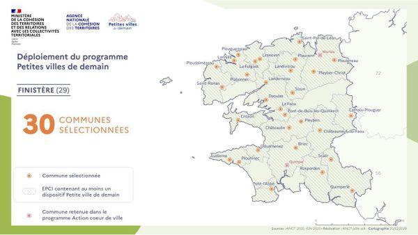""""""" Petites villes de demain """" Finistère"""