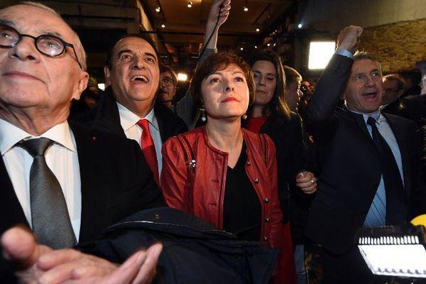 La proclamation des résultats à Montpellier dans le camp de Carole Delga