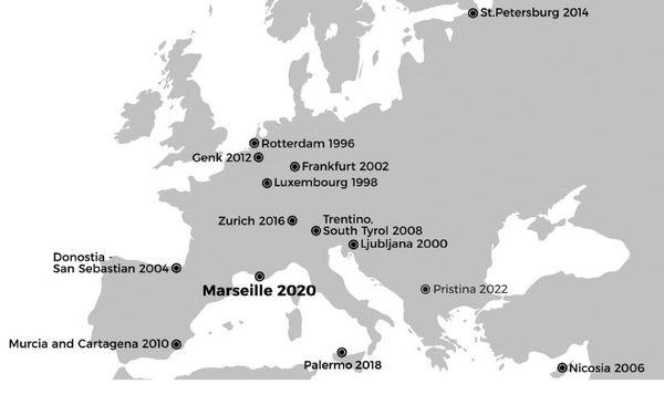 Depuis sa première édition à Rotterdam en 1996, Manifesta investit une nouvelle métropole européenne tous les deux ans.