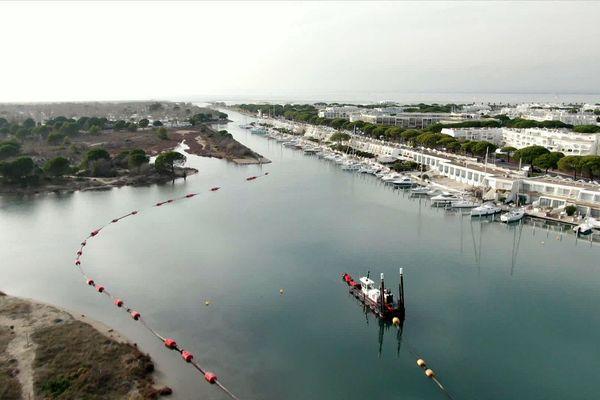 Le projet englobe les 5 ports de la baie d'Aigues-Mortes pour un montant de 3,6 millions d'euros.