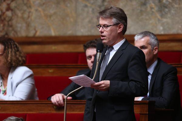 Éric Alauzet à l'Assemblée Nationale