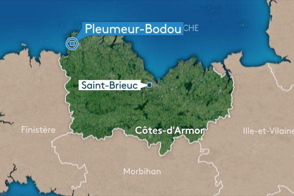 carte Pleumeur-Bodou
