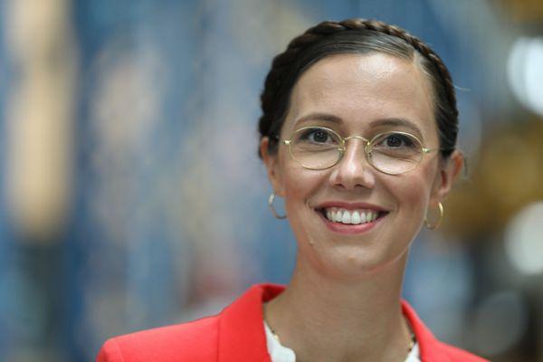 Claire Desmares-Poirrier, candidate pour Europe Ecologie les Verts.