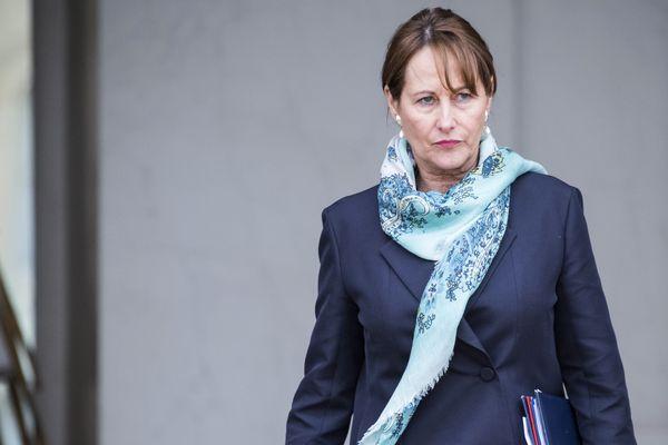 Ségolène Royal, à la sortie conseil des ministres à Paris, le 1er mars dernier.