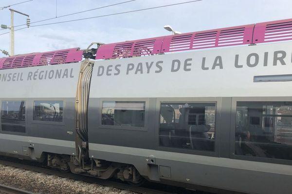 Photo d'illustration d'un TER Pays de la Loire.