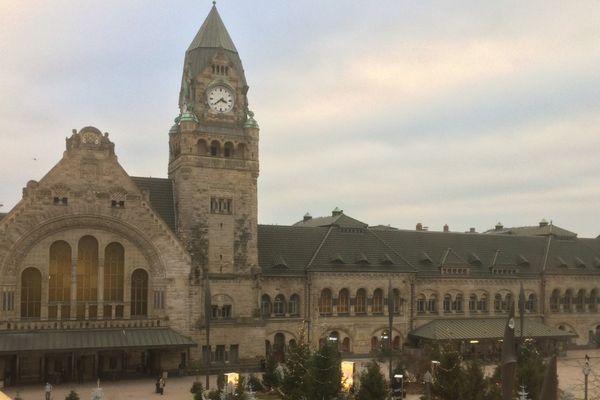 La gare de Metz sera peut-être élue plus belle gare de France le 17 février prochain.