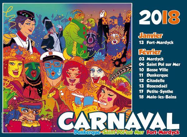 Le coup de crayon fait penser à celui de la BD et les carnavaleuses sont à l'honneur.