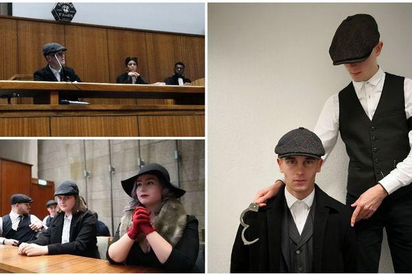 Tommy Shelby joué par Robin, étudiant en deuxième année. 14 jurés ont rendu leur verdict