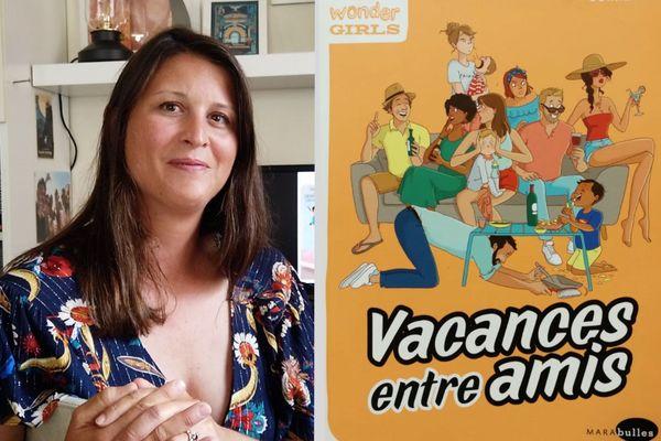 Astrid Cornet présente sa dernière BD : Vacances entre amis