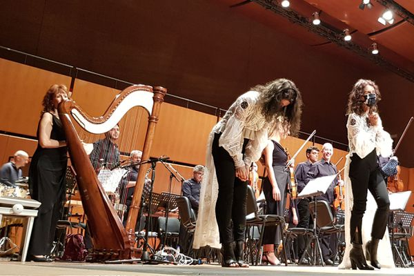 Katia et Marielle Labèque en concert à Rome