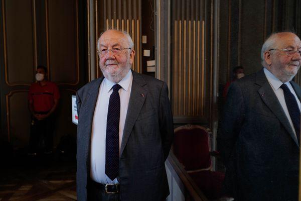 André Rossinot est venu assister à l'élection de Mathieu Klein
