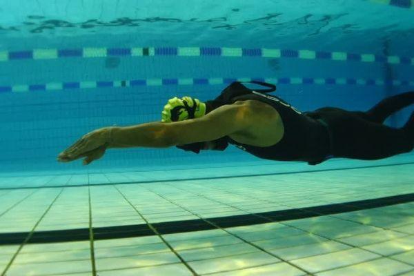 L'apnée, un sport où la concentration est primordiale