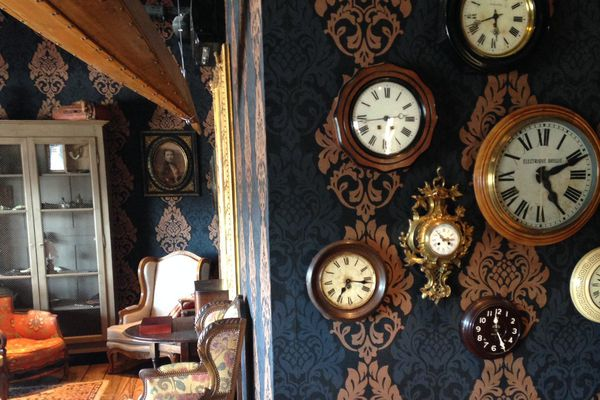 Décor d'une des salles de l'Escape Hunt à Nancy.