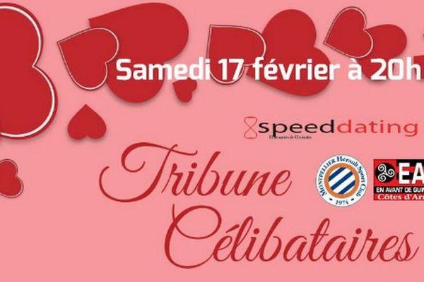 Et si le crachin breton, de circonstance pour accueillir Guingamp ce soir à la Mosson, était l'occasion de trouver son valentin ou sa valentine ? Le MHSC veut y croire en proposant un speed dating avant le match suivi d'une place en tribune.